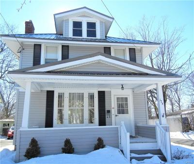 Watertown NY Single Family Home A-Active: $149,000