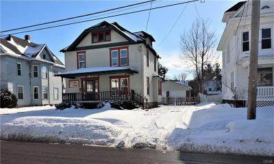 Watertown-City NY Single Family Home Sold: $185,000