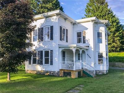 Cazenovia Single Family Home A-Active: 4040 Nelson Road