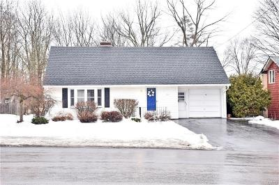 New Hartford Single Family Home U-Under Contract: 50 1/2 Root Street