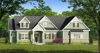 Syracuse Single Family Home A-Active: Lot 37 Malibu Hills Drive Lane