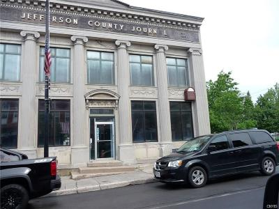 Jefferson County, Lewis County, St Lawrence County Commercial A-Active: 7 Main Street