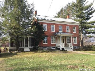 Antwerp NY Single Family Home A-Active: $208,000