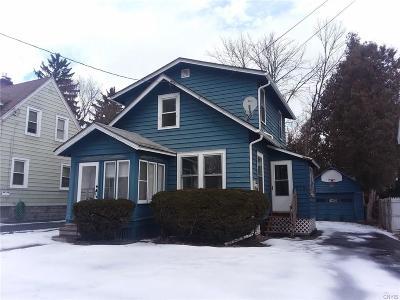 Syracuse Single Family Home A-Active: 238 Kimber Avenue