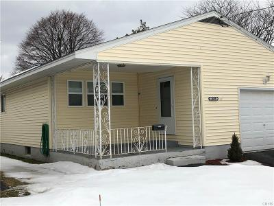 Utica Single Family Home U-Under Contract: 1609 Crouse Street