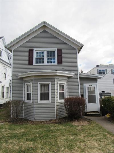 Syracuse Single Family Home A-Active: 604 Milton Avenue