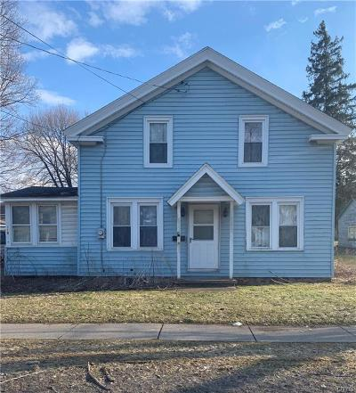 Syracuse Single Family Home U-Under Contract: 119 Chestnut Street