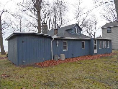 Verona Single Family Home For Sale: 6417 S Lakeshore Road