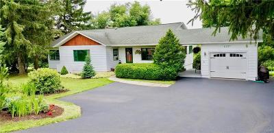 Cayuga County Single Family Home A-Active: 6197 East Lake Road