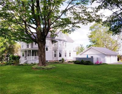 Vernon Single Family Home A-Active: 5329 East Seneca Street