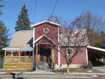 Waterville NY Single Family Home A-Active: $194,500