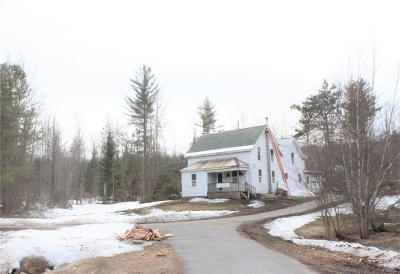 Oswegatchie NY Single Family Home A-Active: $75,000