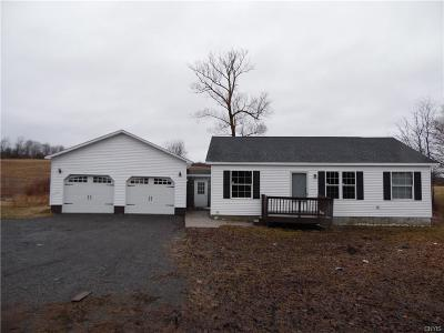Denmark NY Single Family Home A-Active: $155,000