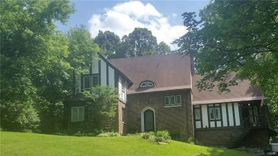 Syracuse Single Family Home U-Under Contract: 136 Circle Road