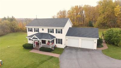 Jefferson County, Lewis County Single Family Home A-Active: 19750 Minkler Road