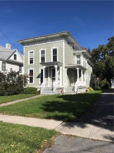 Watertown-City NY Multi Family Home Sold: $1,000