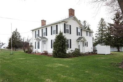 Auburn Single Family Home A-Active: 3177 East Genesee Street Road