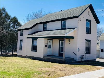 Carthage NY Single Family Home A-Active: $82,900