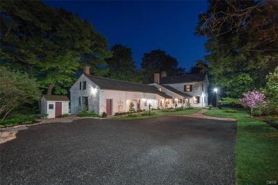 Cazenovia NY Single Family Home A-Active: $650,000