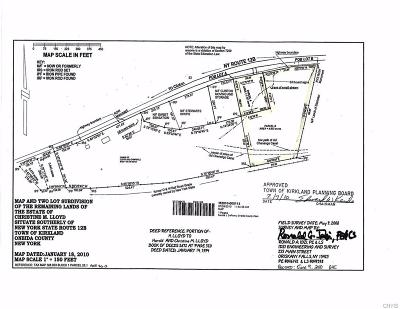 Clinton Residential Lots & Land A-Active: 206b State Route 12b Highway