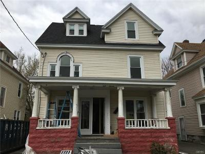 Syracuse Single Family Home U-Under Contract: 116 Dearborn Place