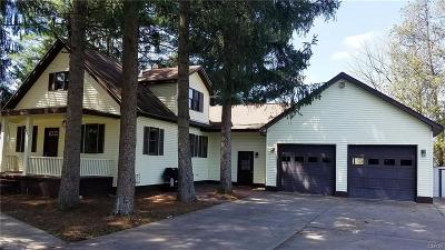 Marcy Single Family Home For Sale: 5863 Cavanaugh Road
