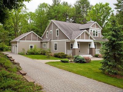Cazenovia Single Family Home A-Active: 2076 Wright Road