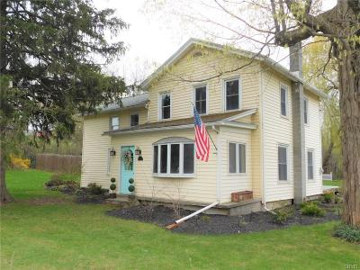 Cayuga County Single Family Home A-Active: 3500 Franklin Street Road