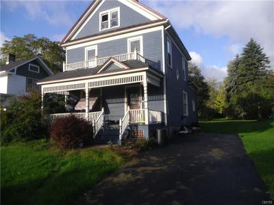 Single Family Home For Sale: 117 College Street