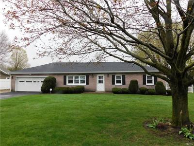Rome Single Family Home U-Under Contract: 8649 Turin Road