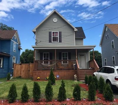 Watertown-City NY Single Family Home For Sale: $185,000