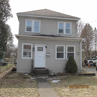 Whitestown Single Family Home For Auction: 33 Whitesboro Street
