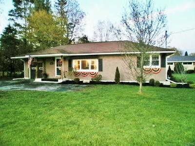 Rome Single Family Home C-Continue Show: 8896 Turin Road