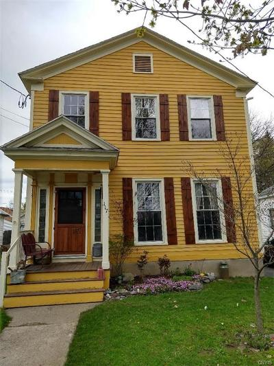 Waterville NY Single Family Home A-Active: $115,000