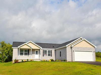 Utica Single Family Home For Sale: 120 Knapps Knolle
