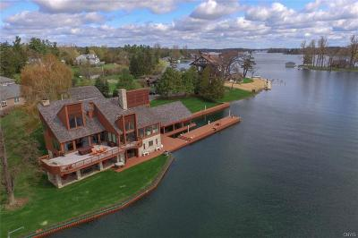 Wellesley Island NY Single Family Home A-Active: $1,200,000
