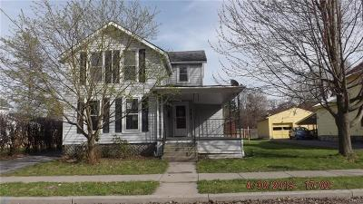 Watertown-City NY Single Family Home For Sale: $67,500