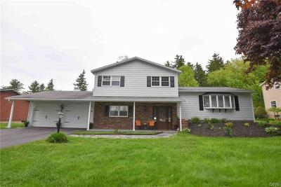 New Hartford Single Family Home Active Under Contract: 323 Higby Road