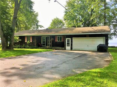 Verona Single Family Home For Sale: 6315 S Lakeshore Road