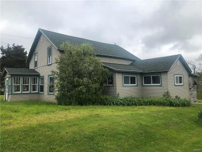 Single Family Home For Sale: 32628 State Route 3