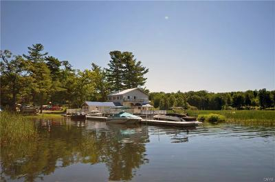 St Lawrence County Single Family Home For Sale: 115 Blind Bay Rd/Prvt