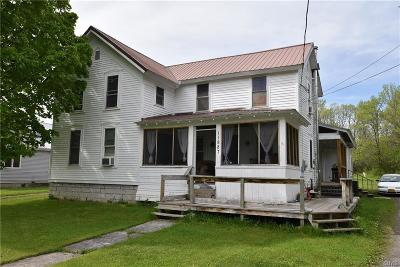 Jefferson County Single Family Home For Sale: 11887 State Route 12e