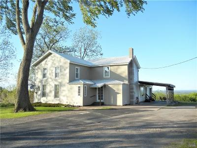 Single Family Home For Sale: 8524 State Route 26