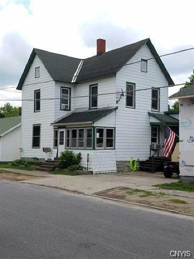 St Lawrence County Single Family Home For Sale: 132 Barnes Street