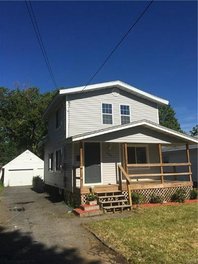Syracuse Single Family Home U-Under Contract: 203 Brown Avenue