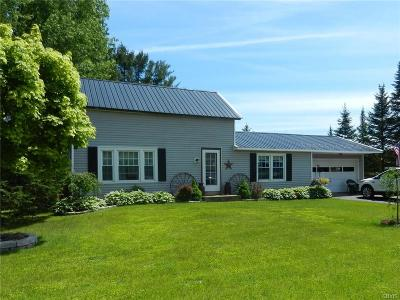 Boonville NY Single Family Home A-Active: $124,900