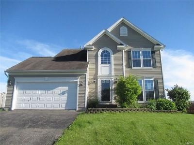 Syracuse Single Family Home A-Active: 4769 Manor Hill Drive