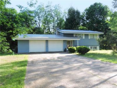 Rome Single Family Home U-Under Contract: 7970 Middle Road #SS