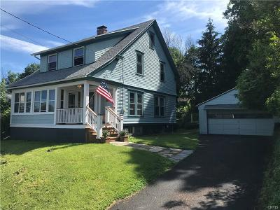 Syracuse Single Family Home Active Under Contract: 185 Reed Avenue