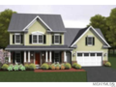 New Hartford Single Family Home For Sale: 208 Glendale Ave. Lot 8